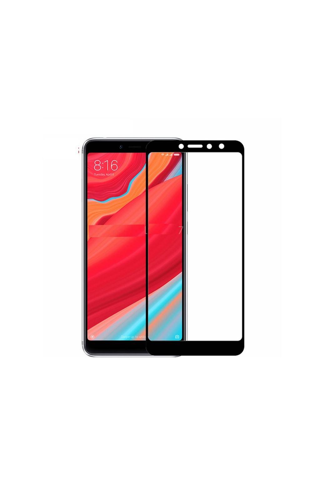 3D Tvrzené sklo na Xiaomi Redmi S2 černé