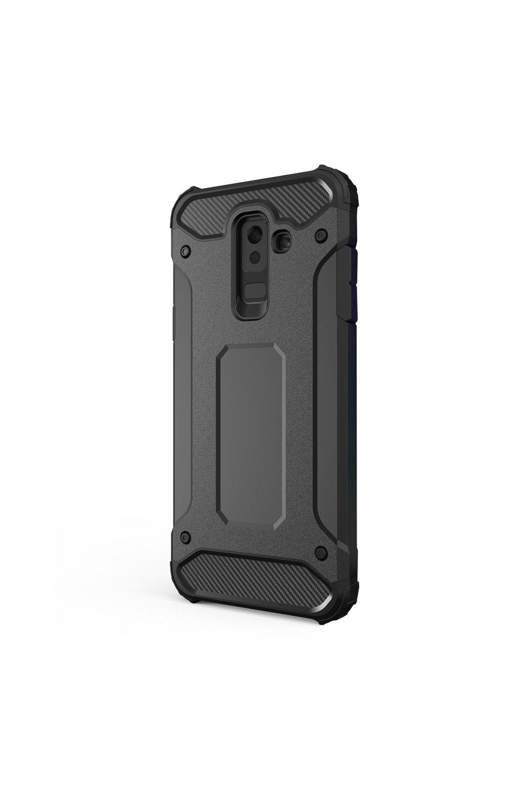 aeng pl Hybrid Armor Case Tough Rugged Cover for Samsung Galaxy A6 Plus 2018 A605 black 42381 1