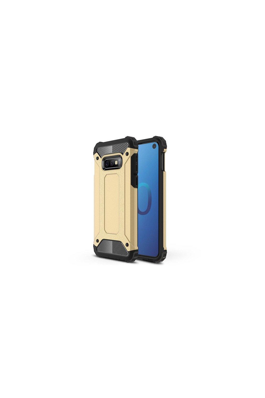 eng pl Hybrid Armor Case Tough Rugged Cover for Samsung Galaxy S10 Lite golden 46578 1