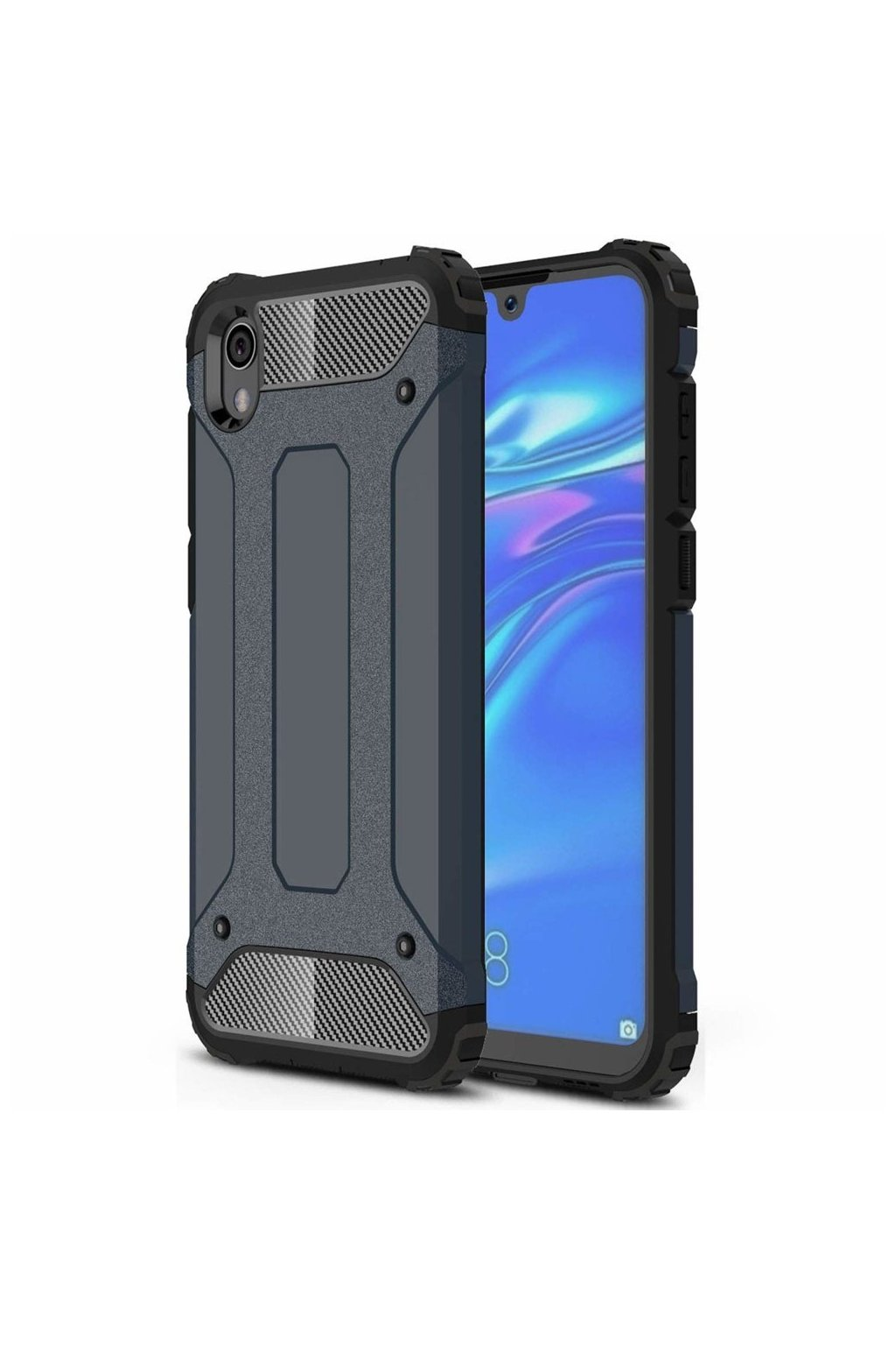 eng pl Hybrid Armor Case Tough Rugged Cover for Xiaomi Redmi 7A blue 51334 1