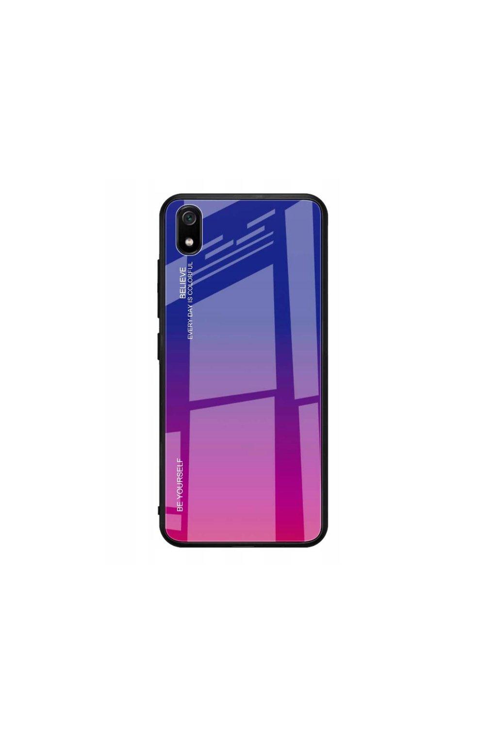 eng pl Glass case Gradient XIAOMI REDMI 7A purple 63800 1