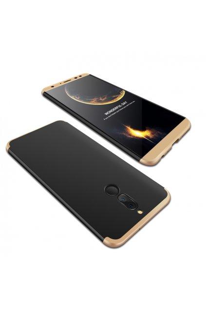 360 oboustranný kryt na Huawei Mate 10 Lite zlatočerný