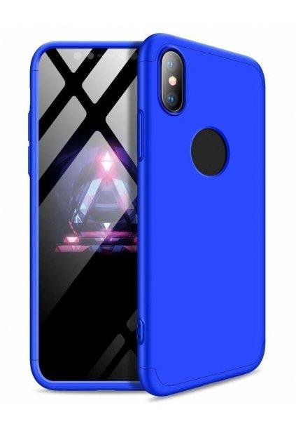360 obojstranný kryt na Huawei Mate 20 Lite - modrý