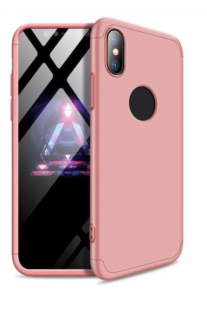360 obojstranný kryt na Huawei Mate 20 Lite - ružový