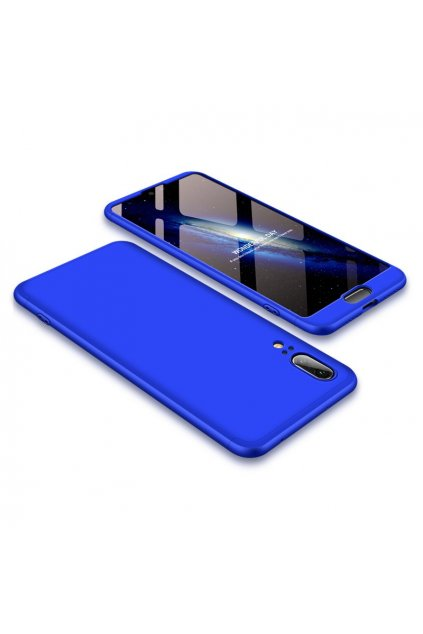 eng pl 360 Protection Front and Back Case Full Body Cover Huawei P20 blue 39571 1