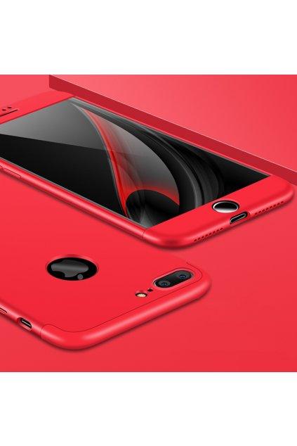 360 oboustranný kryt na iPhone 7 Plus, iPhone 8 Plus červený 8
