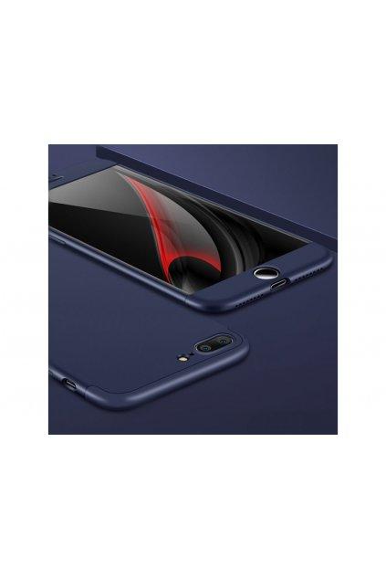 12732 360 oboustranny kryt na iphone 7 plus iphone 8 plus modry bez vyrezu na logo