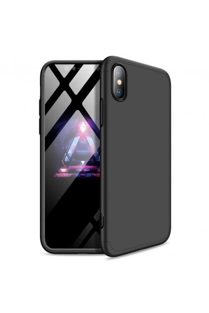 eng pl 360 Protection Front and Back Case Full Body Cover iPhone XR black 45990 1