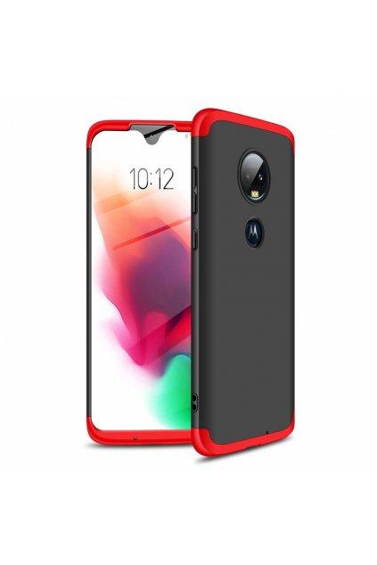 eng pl GKK 360 Protection Case Front and Back Case Full Body Cover Motorola Moto G7 black red 46548 1