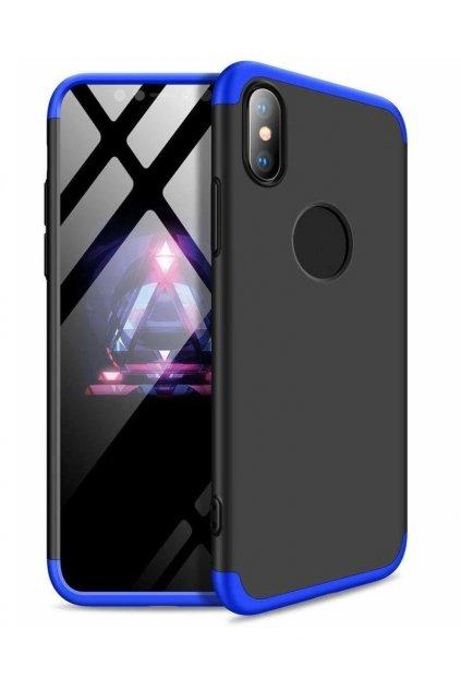 360 obojstranný kryt na Samsung Galaxy S10 Plus - Modro-čierny
