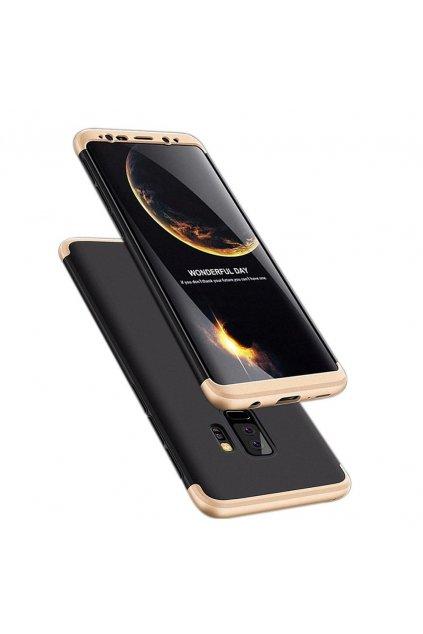 360 oboustranný kryt na Samsung Galaxy S9 Plus zlatočerný 1