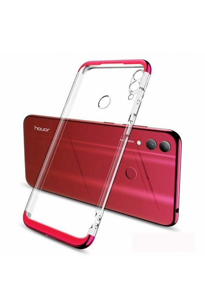 eng pl GKK 360 Phantom Case Front and Back transparent Case Full Body Cover Huawei P Smart 2019 red 49746 1