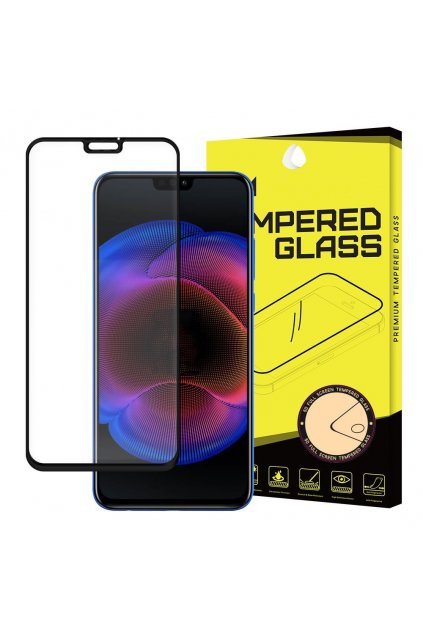 eng pl Wozinsky Tempered Glass Full Glue Super Tough Screen Protector Full Coveraged with Frame Case Friendly for Huawei Honor 8X black 45065 5