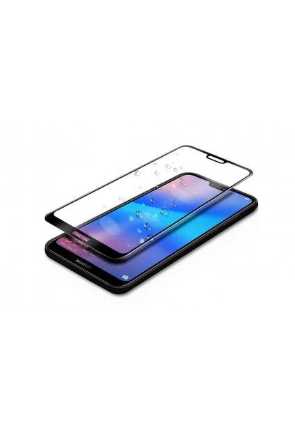 celoplošné 3D sklo na huawei p20 lite černé uprava