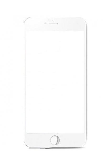 8580 3d soft tvrzene sklo na iphone 6 6s bile
