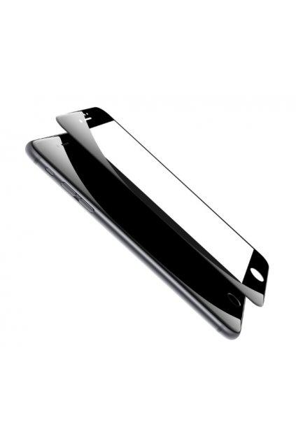 Zaoblené tvrzené sklo na iPhone 7 černé
