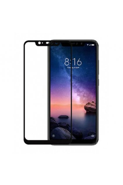 full cover protection tempered glass screen protector for redmi note 6 pro global version