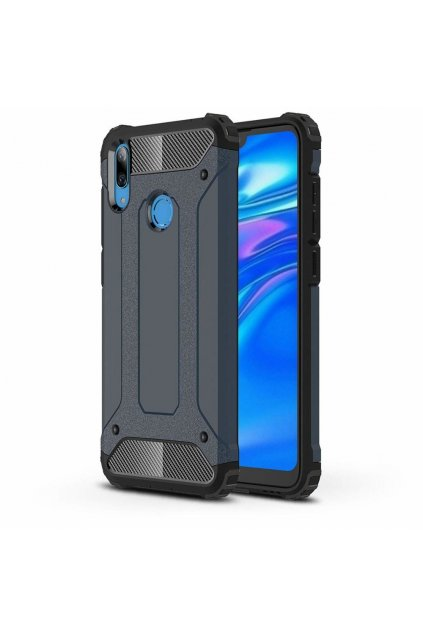 eng pl Hybrid Armor Case Tough Rugged Cover for Asus ZenFone Max Pro M2 ZB631KL blue 50139 1