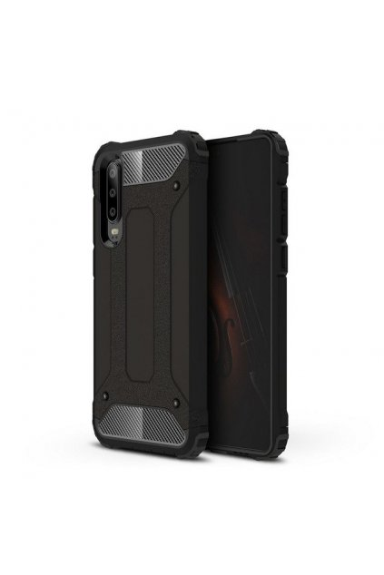 eng pl Hybrid Armor Case Tough Rugged Cover for Huawei P30 black 46564 1