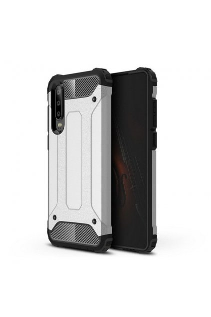 eng pl Hybrid Armor Case Tough Rugged Cover for Huawei P30 silver 46567 1