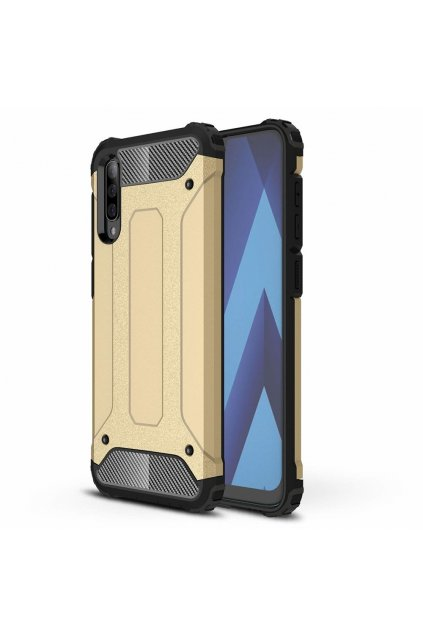 eng pl Hybrid Armor Case Tough Rugged Cover for Samsung Galaxy A50 golden 50115 1