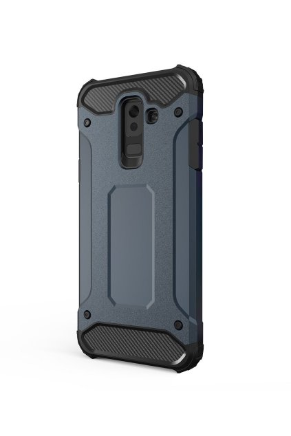 aeng pl Hybrid Armor Case Tough Rugged Cover for Samsung Galaxy A6 Plus 2018 A605 blue 42382 1