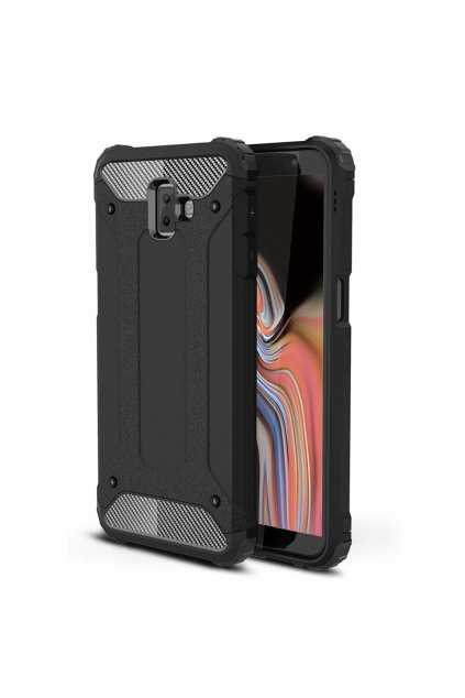 eng pl Hybrid Armor Case Tough Rugged Cover for Samsung Galaxy J6 Plus 2018 J610 black 45442 1