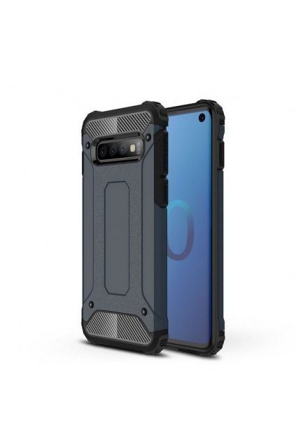 eng pl Hybrid Armor Case Tough Rugged Cover for Samsung Galaxy S10 blue 46573 1