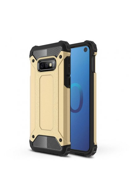 eng pl Hybrid Armor Case Tough Rugged Cover for Samsung Galaxy S10 Lite golden 46578 1