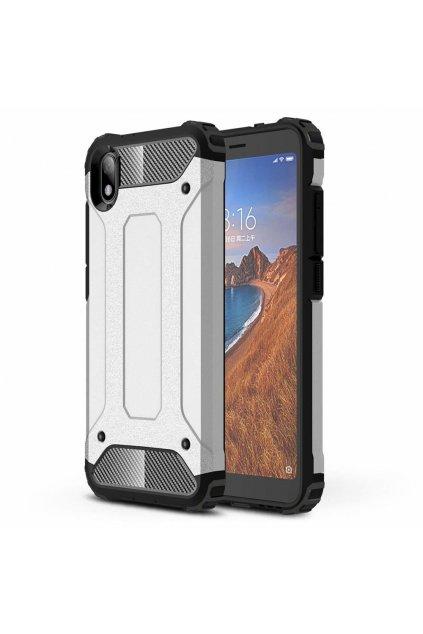 eng pl Hybrid Armor Case Tough Rugged Cover for Xiaomi Redmi 7A silver 52290 2