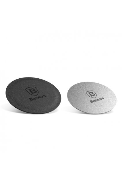 eng pl Baseus Magnet Iron Suit 2x Iron Plate for Magnetic Car Holder silver 37942 2