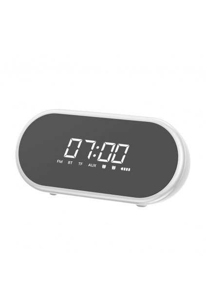 eng pl Baseus Encok E09 Stylish Portable Wireless Bluetooth Speaker with alarm clock and LED lamp white NGE09 02 51492 1