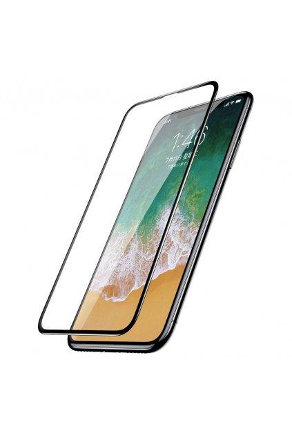 eng pl Baseus iPhone X 0 3mm Silk screen All screen Tempered Glass Film Black SGAPIPHX KC01 48207 1