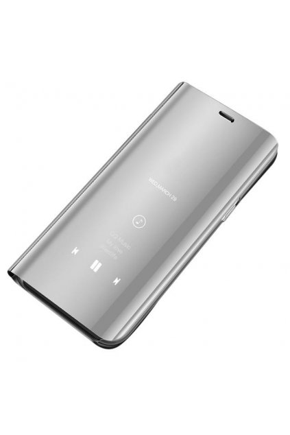 eng pl Clear View Case cover with Display for Xiaomi Redmi Note 5 dual camera Redmi Note 5 Pro silver 45978 1