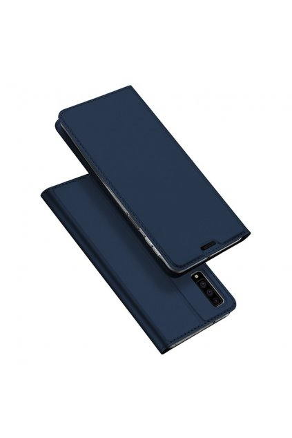 eng pl DUX DUCIS Skin Pro Bookcase type case for Samsung Galaxy A7 2018 A750 blue 45071 1