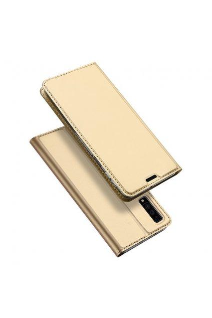 eng pl DUX DUCIS Skin Pro Bookcase type case for Samsung Galaxy A7 2018 A750 golden 45072 1