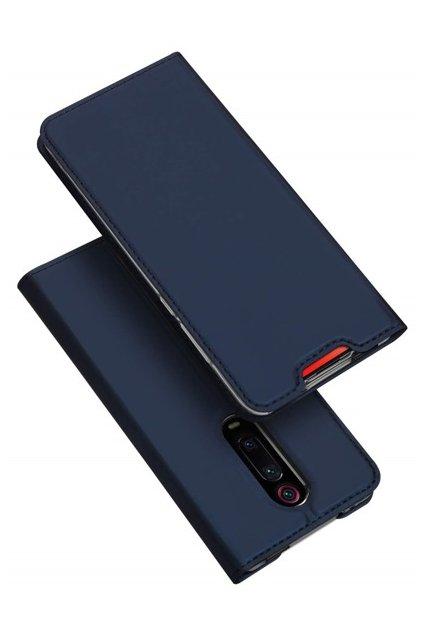 eng pm Dux Ducis Skin Leather case with a flap XIAOMI MI 9T navy blue 63461 6