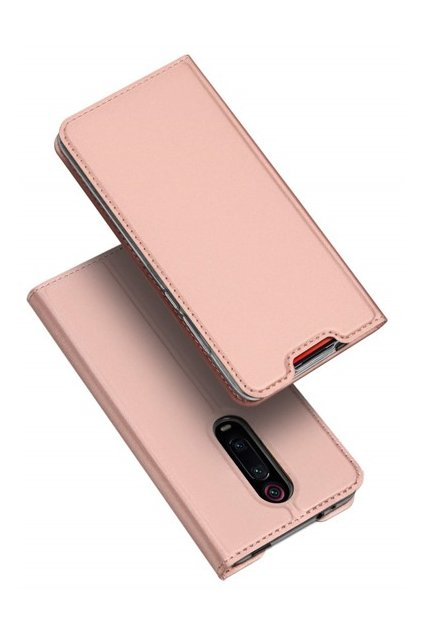 eng pm Dux Ducis Skin Leather case with a flap XIAOMI MI 9T light pink 63462 2