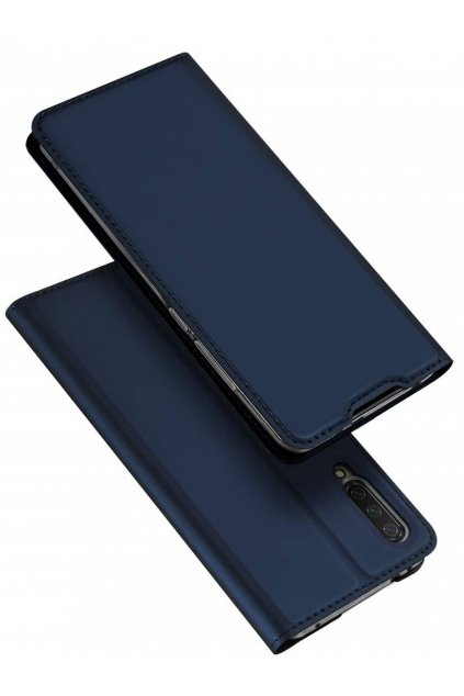 eng pl Dux Ducis skin leather flip case XIAOMI MI A3 navy blue 64005 1