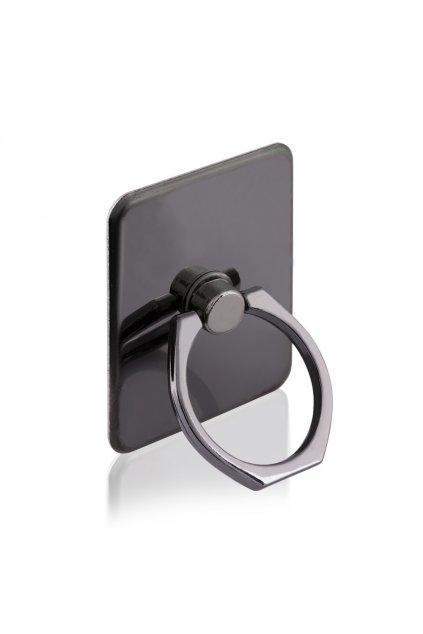 eng pl Metal ring holder for smartphone and tablet black 35996 2