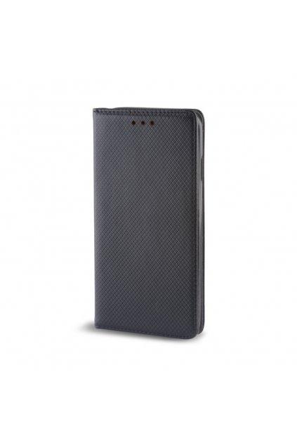 Magnetické flipové pouzdro na Honor 8 Pro černé