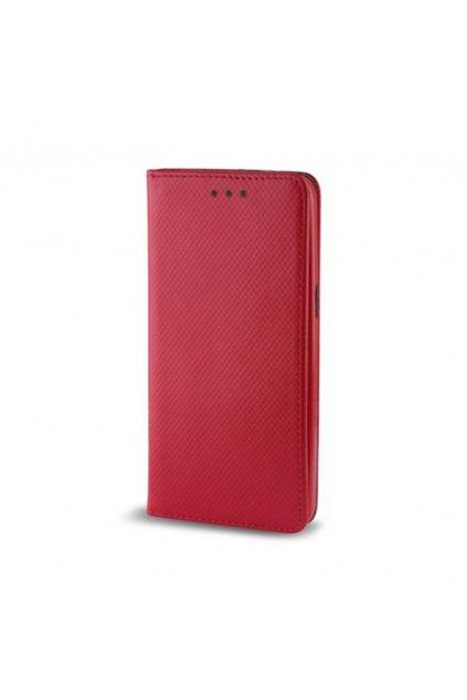 Magnetické flipové pouzdro na Huawei P10 lite červené