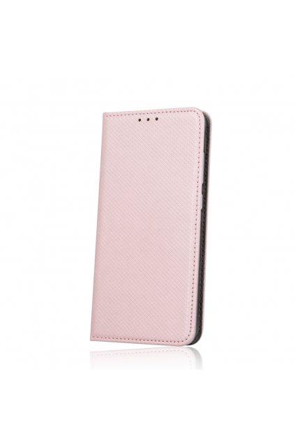 Magnetické flipové pouzdro na Huawei Y7 růžové kopie kopie