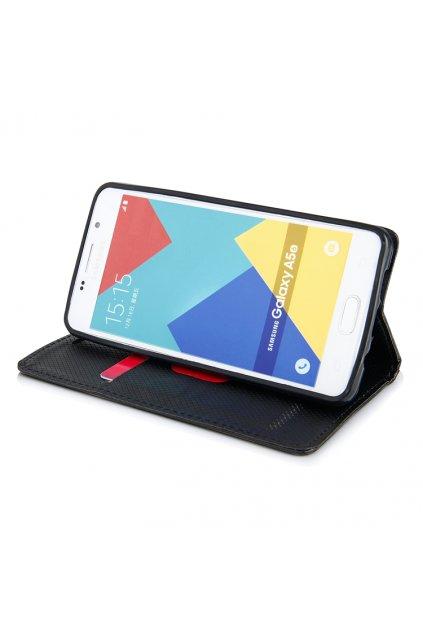 Magnetické flipové pouzdro pro Samsung A5 2016 černá