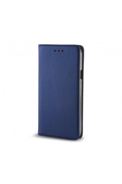 Magnetické flipové pouzdro na Huawei Y7 modré