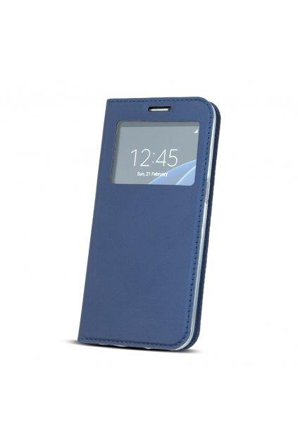 Flipové pouzdro s okénkem na Samsung S9 modré