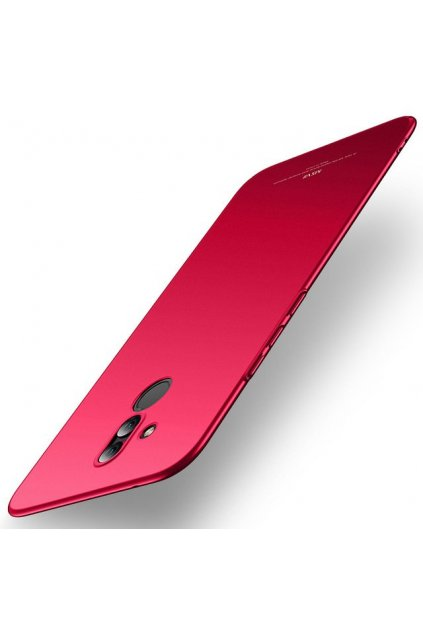eng pl MSVII Simple Ultra Thin Cover PC Case for Huawei Mate 20 Lite red 44985 1
