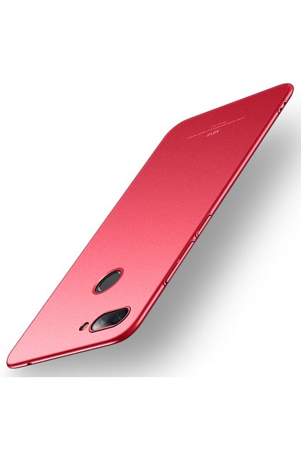eng pl MSVII Simple Ultra Thin Cover PC Case for Xiaomi Mi 8 Lite red 44989 1
