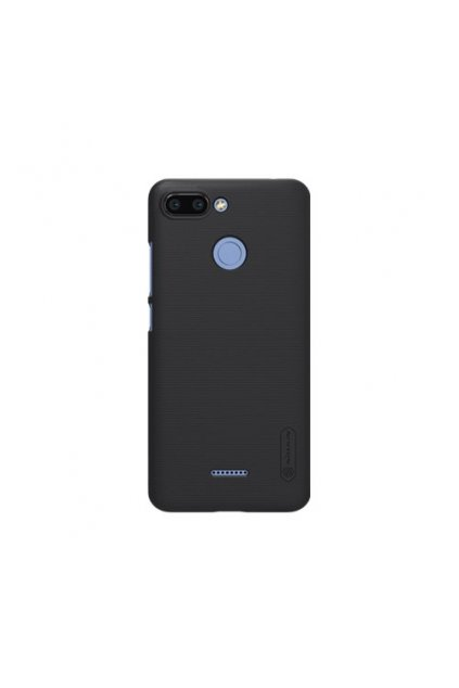 eng pl Nillkin Super Frosted Shield Case with screen protector for Xiaomi Redmi 6 black 42122 1