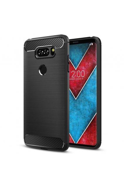 eng pl Carbon elastic cover case LG Q60 black 63231 1